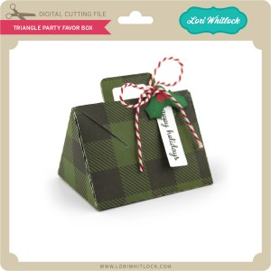 LW-Triangle-Party-Favor-Box