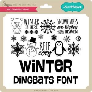 LW-Winter-Dingbats-Font
