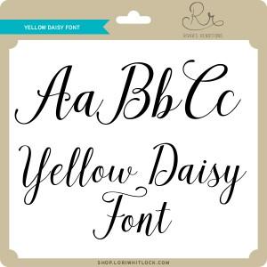 RR-Yellow-Daisy-Font