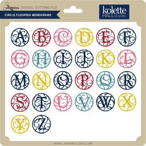 KH-Circle-Flourish-Monograms