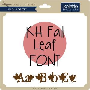 KH-Fall-Leaf-Font