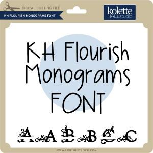 KH-Flourish-Monograms-Font