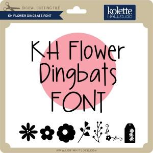 KH-Flower-Dingbats-Font