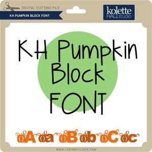 KH-Pumpkin-Block-Font
