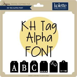 KH-Tag-Alpha-Font
