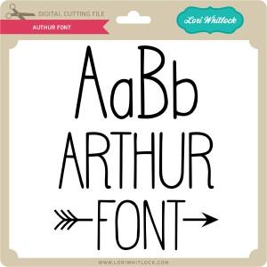 LW-Authur-Font
