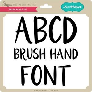 LW-Brush-Hand-Font