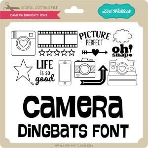 LW-Camera-Dingbats-Font