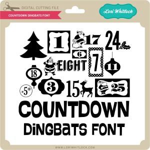 LW-Countdown-Dingbats-Font