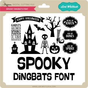LW-Spooky-Dingbats-Font