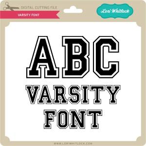 LW-Varsity-Font