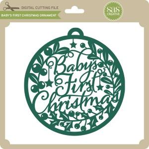 SAS-Baby's-First-Christmas-Ornament