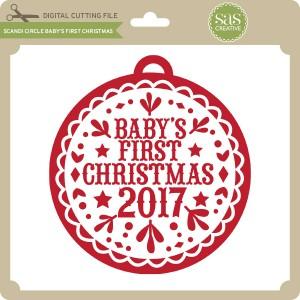 SAS-Scandi-Circle-Baby's-First-Christmas
