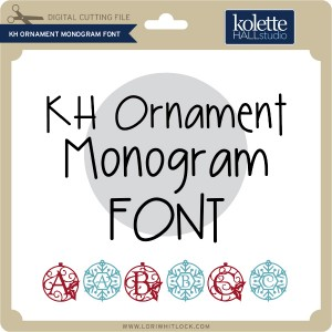 KH-Ornament-Monogram-Font