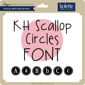 KH-Scalloped-Circles-Font