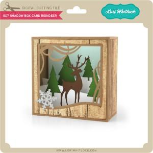 LW-5x7-Shadow-Box-Card-Reindeer