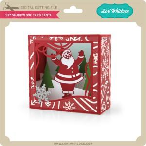 LW-5x7-Shadow-Box-Card-Santa