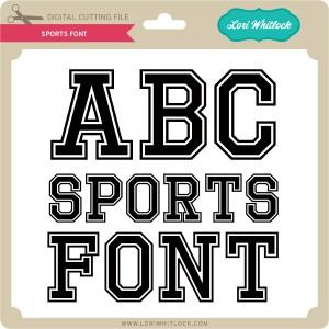 LW-Sports-Font