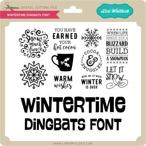 LW-Wintertime-Dingbats-Font