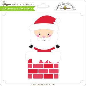 DB-Milk-&-Cookies-Santa-Chimney
