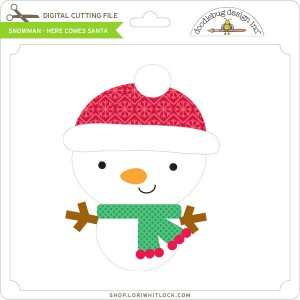 DB-Snowman-Here-Comes-Santa