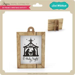 LW-3D-Frame-Christmas-Nativity