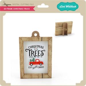 LW-3D-Frame-Christmas-Truck