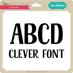 LW-Clever-Font