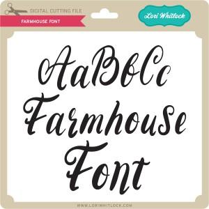 LW-Farmhouse-Font