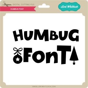 LW-Humbug-Font