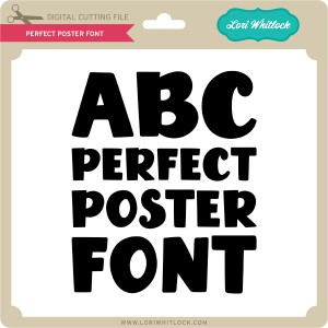 LW-Perfect-Poster-Font