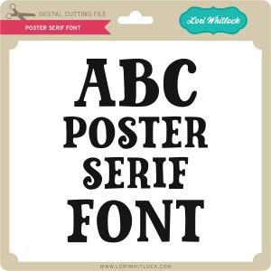 LW-Poster-Serif-Font