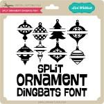 LW-Split-Ornaments-Dingbats-Font