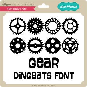 LW-Gear-Dingbats-Font
