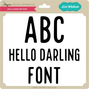 LW-Hello-Darling-Font