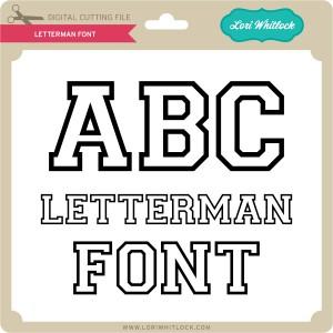 LW-Letterman-Font