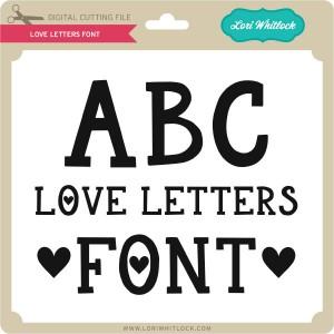 LW-Love-Letters-Font
