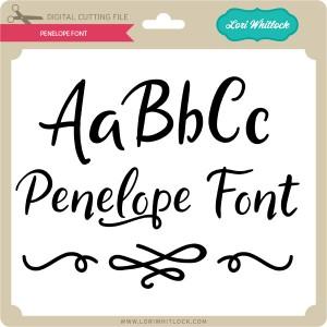 LW-Penelope-Font