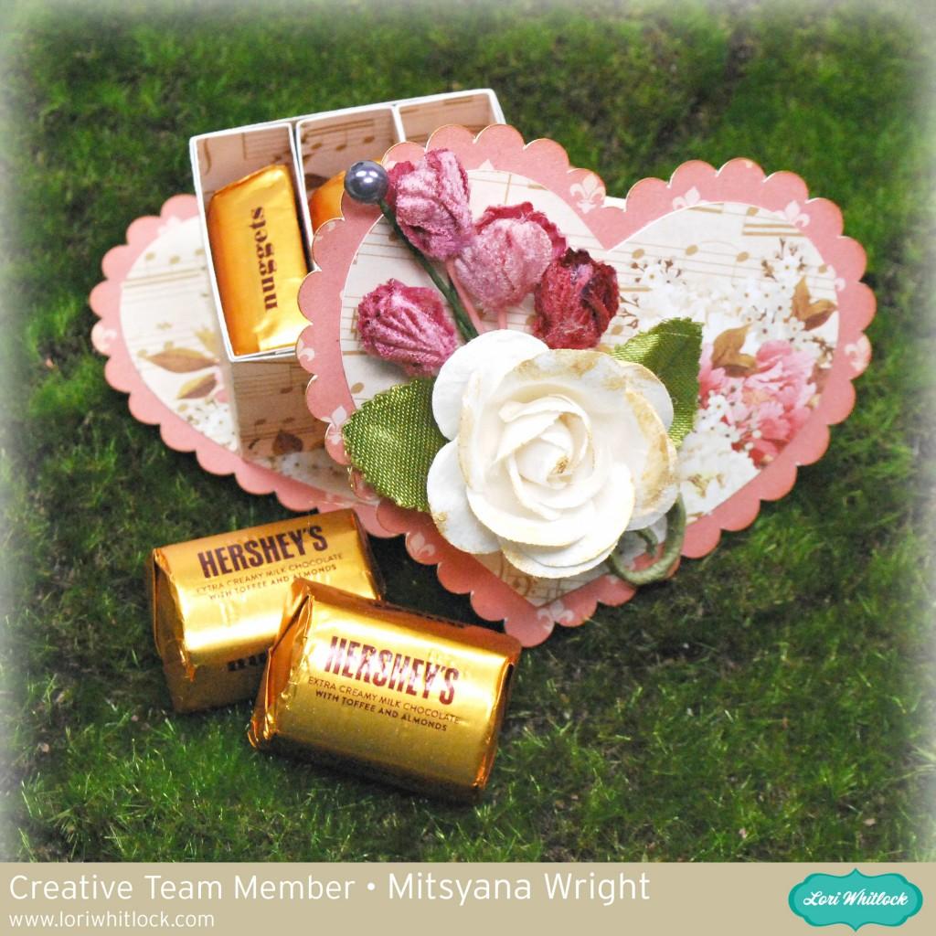 Sweet Little Valentine Chocolate Box
