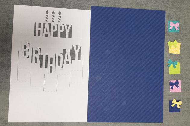 Pop Up Birthday Cake Card Tutorial With Kathy
