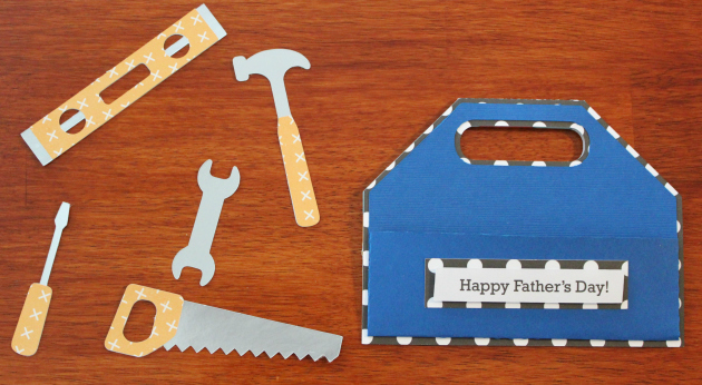 Father's Day Tool Box Card Tutorial with Anita