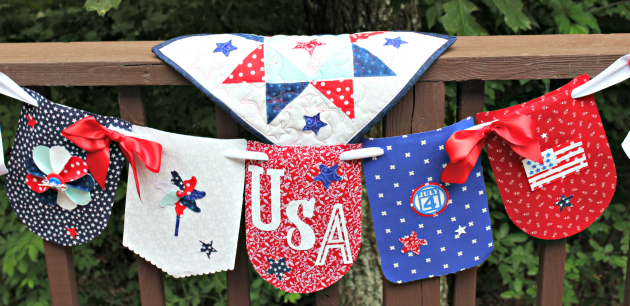 Flag Day Banner Tutorial With Anita