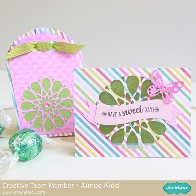 Matching Mandala Card and Box Set by Aimee