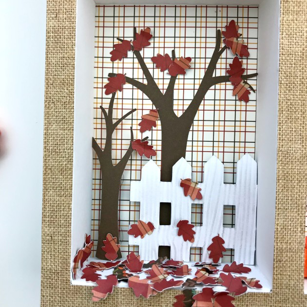 Fall Shadow Box Tutorial with Brandie