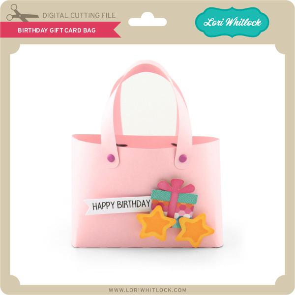 Birthday Gift Card Bag With Corri