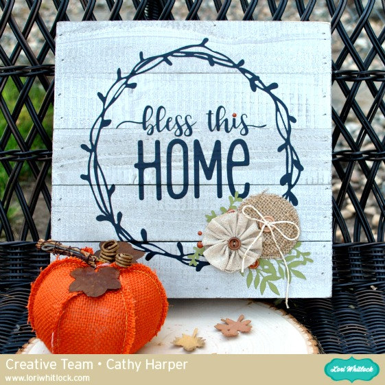 Bless This Home Sign Tutorial with Cathy