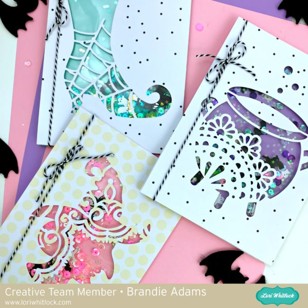 Halloween Shaker Card Tutorial with Brandie