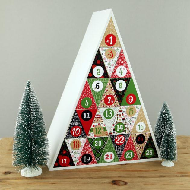 Make a Silhouette Advent Calendar!