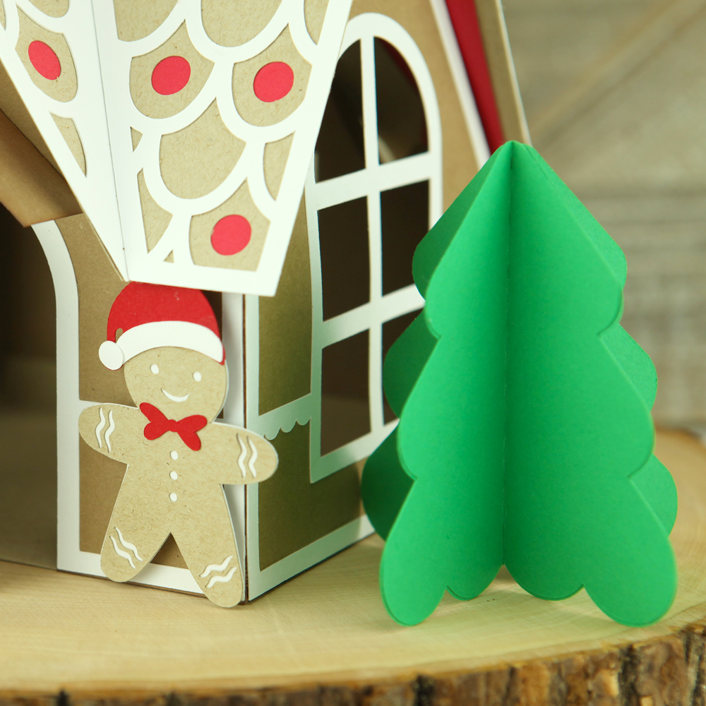 New Product Feature:  3D Gingerbread House