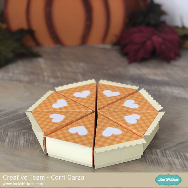 3D Pumpkin Pie Tutorial with Corri